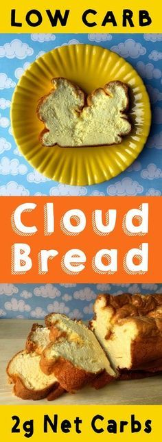 If you miss the taste of bread, but not the carbs,then cloud bread is the recipe to reach for.  This recipe is Low Carb, Keto, Paleo, Atkins, THM, Sugar Free and Gluten Free.