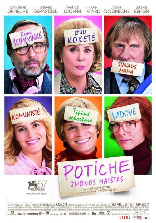 """""""Potiche"""" (Potiche – Esposa Troféu, 2010)  Diretor: François Ozon"""