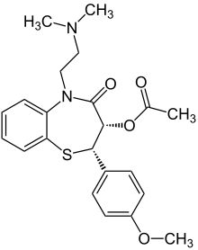 Cardizem drug study