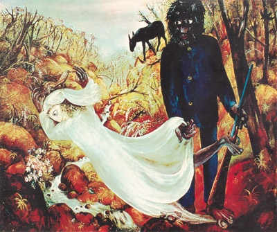 Arthur Boyd - Bride and Bridegroom series, so many galleries I dragged my scraggy student artist self to in the 70's, so glad I did, Arthur you inspired me.