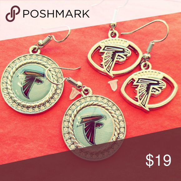 NFL Falcons Earrings Brand new Falcons Earrings, shipped with care from Arizona! NFL Jewelry Earrings