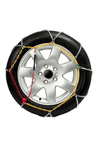 GODKN120 – Chaines Neige, 9mm. E-9 NEO, taille 120 pour les mesures de pneus: 225/70_R15 , 235/40_R18 , 235/50_R18 , 235/60_R16 ,…