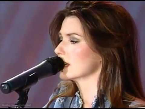 Shania Twain And Dolly Parton- Coat Of Many Colors.  They sound INCREDIBLE together!