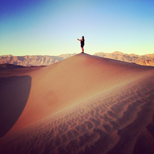 """@chrisvallejos's photo: """"@reynhornwood been caught gramming this morning at the sand dunes #whpcaughtgramming"""""""
