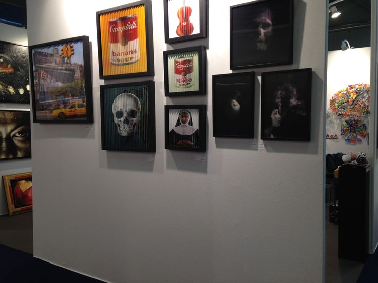Venez découvrir les oeuvres cinétiques de la Colorfield Gallery au Art3f de Mulhouse
