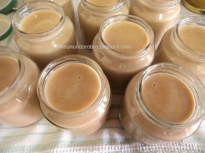 Bimby - Iogurte de bolacha maria e caramelo  http://omeumundorobot.blogspot.pt/2013/07/bimby-iogurte-de-bolacha-maria-e.html