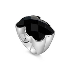 I have been eyeballing this for years.  Tous bear ring.  silver and onyx.