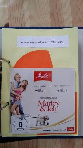 DIY - Wenn-Buch ... Wenn dir mal nach Kino ist