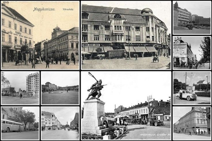 #Old #Nagykanizsa, #Hungary #Collage #oldCities  http://old-cities-world.blogspot.rs/2016/03/old-nagykanizsa-hungary-collage.html #oldHungary