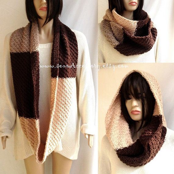 Women Knit Scarf Accessories Winter Fashion Gifts // - Christmas Gifts - Winter Fashion - soft Winter Scarf Women Men Infinity Scarf Hooded Scarves Eternity Knitted Scarf For Her For Him Gift Ideas Christmas Gifts senoAccessory ,Wholesale welcome! contact for wholesale prices! EXTRA