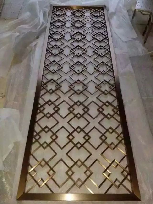 Decorative metal screens