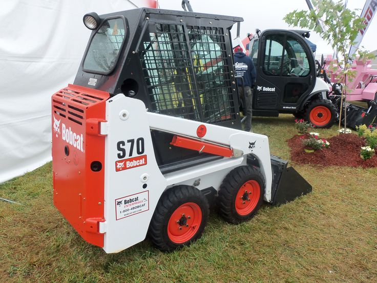 Bobcat S70 skid steer loader | Construction Equipment | Pinterest