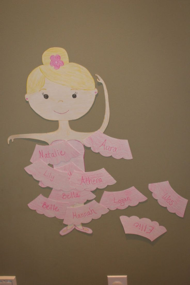 Pin the Tutu on the Ballerina