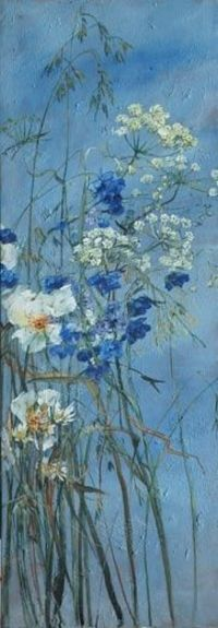 Claire Basler, a fantastic modern French painter