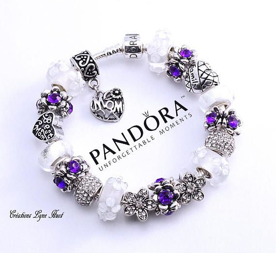 Marca Autentica Pulsera De Pandora De Plata De Ley 925 O Tienes La Opcion De Tener El Mismo Arregl Pandora Bracelet Charms Silver Necklace Designs Pandora