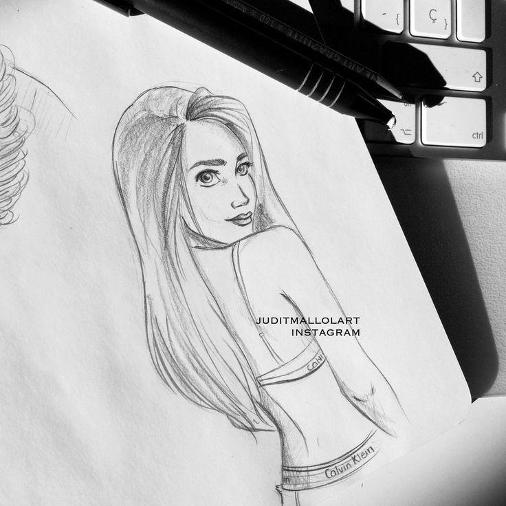 Undies sketch by juditmallolart on DeviantArt