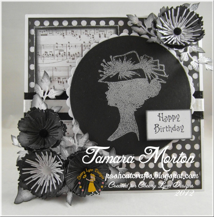 Card created using Cheery Lynn Dies and Sweet Stamps Images