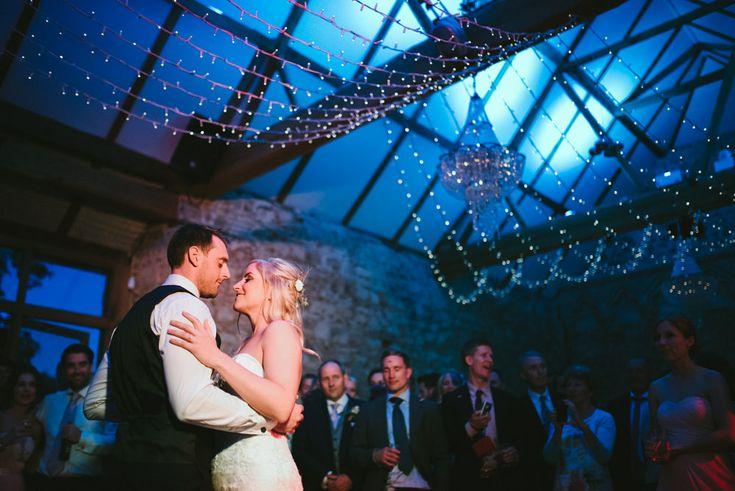 Via RockMyWedding > click through for the blog post of Faye & Stuart's gorgeous wedding at Notley Abbey wedding
