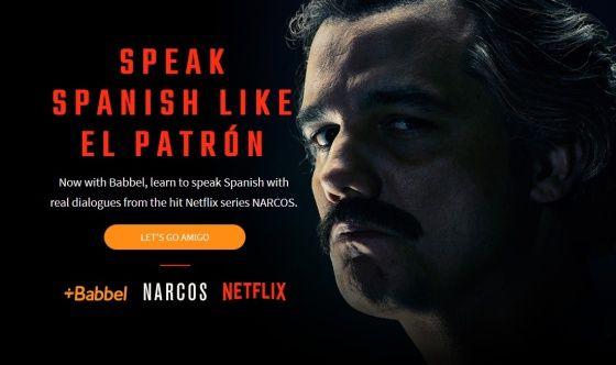 La web que te enseña hablar español como Pablo Escobar (el de 'Narcos')