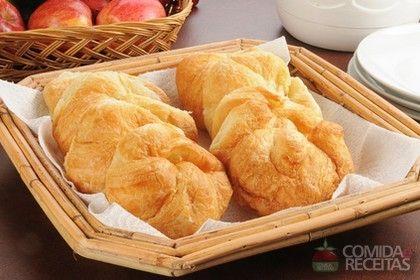 Receita de Croissant francês - Comida e Receitas
