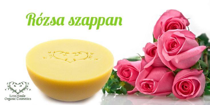 Rózsa szappan, selymesen lágy, krémes, kényeztető #rose #rozsa #szappan #soap #silk #termeszetes #natural http://webshop.love2smile.hu/spd/L2S74750215/Rozsa-szappan