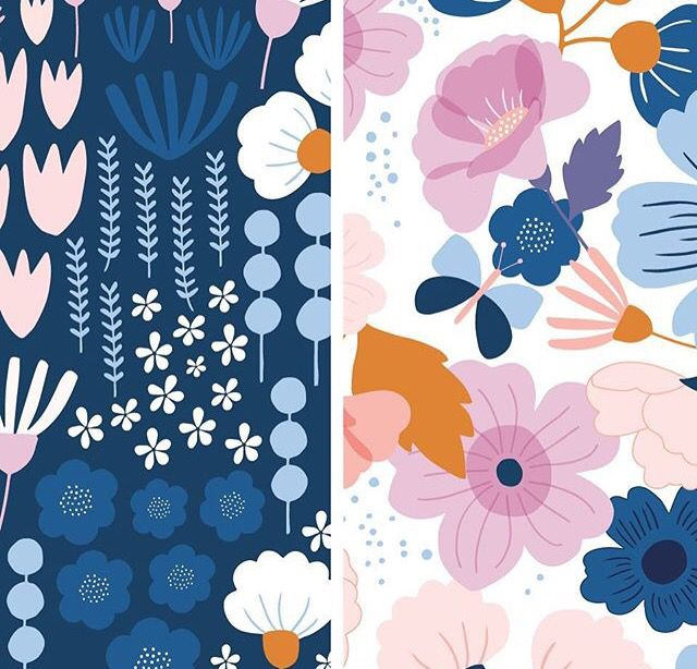 104 best Florals images on Pinterest | Floral patterns, Patterns and ...