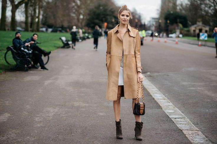 Οι καλύτερες streetstyle εμφανίσεις των fashionistas από την Εβδομάδα Μόδας του Λονδίνου / Fashion / Woman TOC