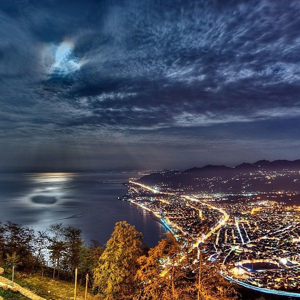 City lights Ordu ⚓ Eastern Blacksea Region of Turkey #karadeniz #doğukaradeniz #ordu