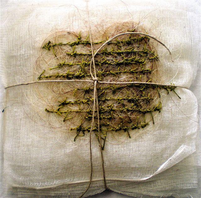 Stéphanie Devaux fabrics + paper + thread