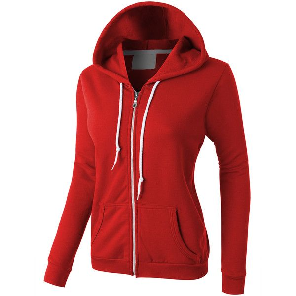 Best 25  Red zip up hoodies ideas on Pinterest | Red zip ups, Red ...