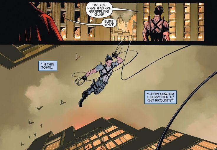 Batman and Robin Eternal 1. Dick Grayson. Agent 37. Tim Drake. Red Robin.
