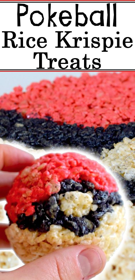 Make these tasty Pokeball treats for while your out hunting with Pokemon Go!