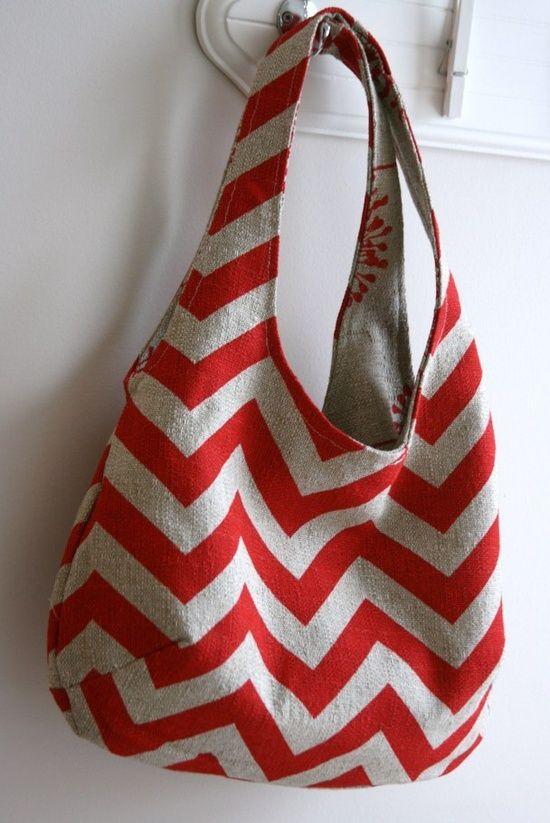 tutorial for reversible bag....Super simple pattern