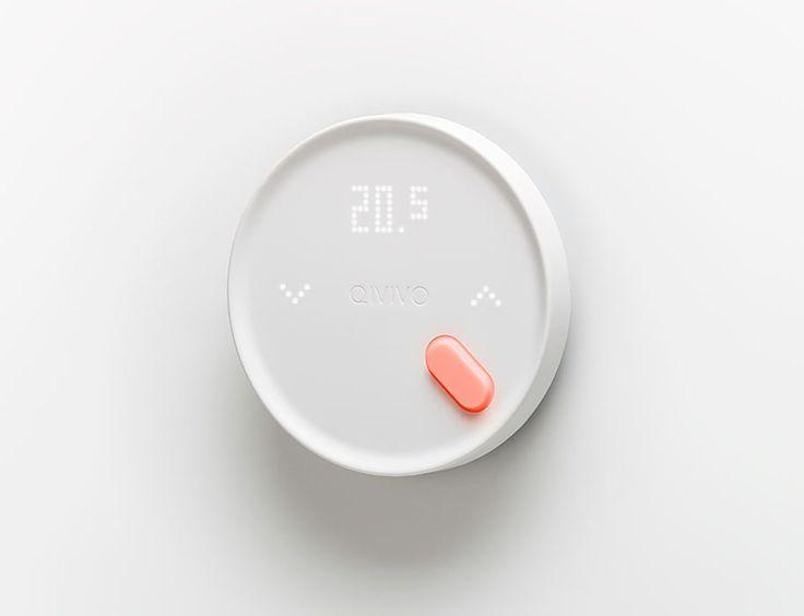 Qivivo Smart Thermostat I 5.5 Design Studio