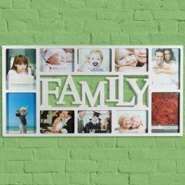 Porta Retratos Família (10 Fotos)
