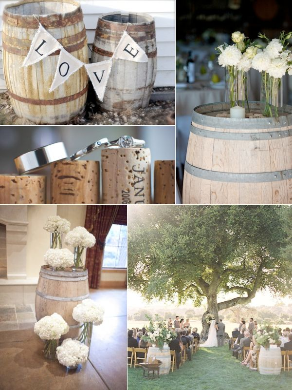 more wine barrels
