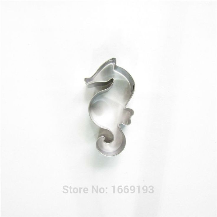 Beautiful Sea Horse Shape Cake Decorating Fondant Cutters Tools,Marine Baby Cake Cookie Biscuit Baking Molds