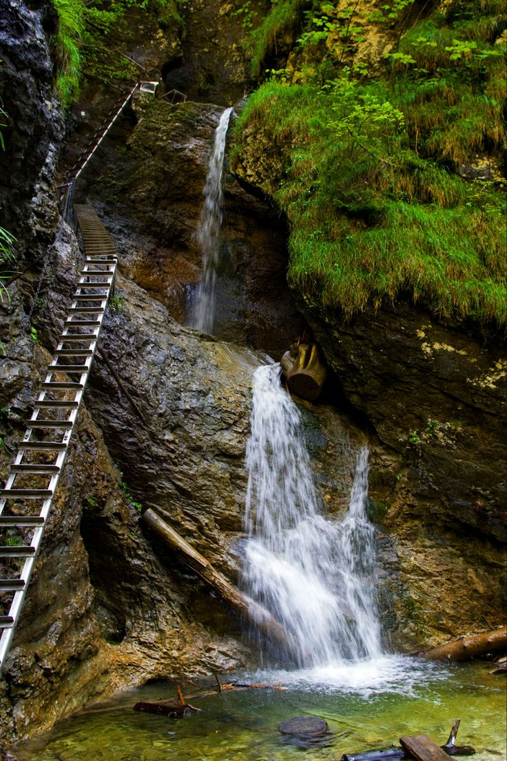 Slovensky Raj (Slovak Paradise) national park. Slovakia.