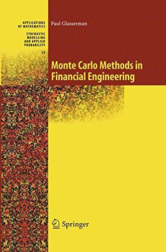 From 35.00 Monte Carlo Methods In Financial Engineering: 53 (stochastic Modelling And Applied Probability)