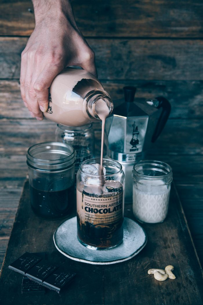 Iced Cashew Mocha — Nothing but Delicious