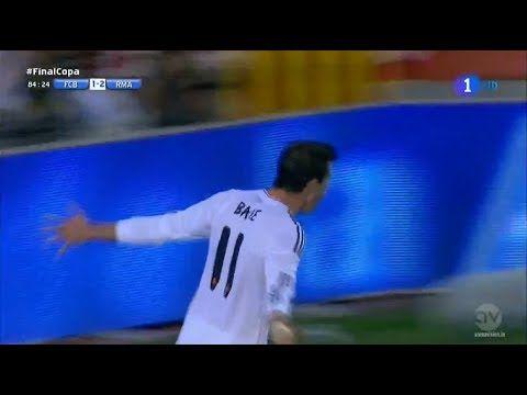 Gareth Bale Goal ~ FC Barcelona vs Real Madrid 1-2 Final Copa Del Rey 16...