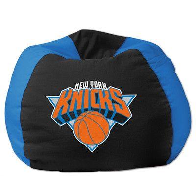 NBA Bean Bag Chair NBA Team: New York Knicks - http://delanico.com/bean-bag-chairs/nba-bean-bag-chair-nba-team-new-york-knicks-522792064/