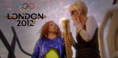 Here's my Olympic spirit sweetie.