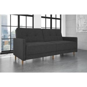 DHP Andora Coil Twin/Double Size Gray Linen Futon-2146429 - The Home Depot    https://www.houzz.com/product/90726868-dhp-andora-coil-linen-convertible-sleeper-sofa-navy-blue-midcentury-sleeper-sofas