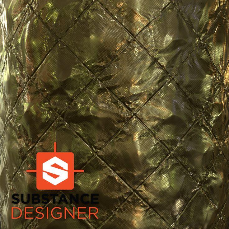 Substance Designer Materials, David Holland on ArtStation at https://www.artstation.com/artwork/WkxV3