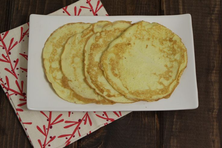 Coconut Flour Crepes (Sugar and Starch Free). From Just Enjoy Food