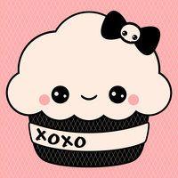 Kawaii Cupcake by visionsofsugar