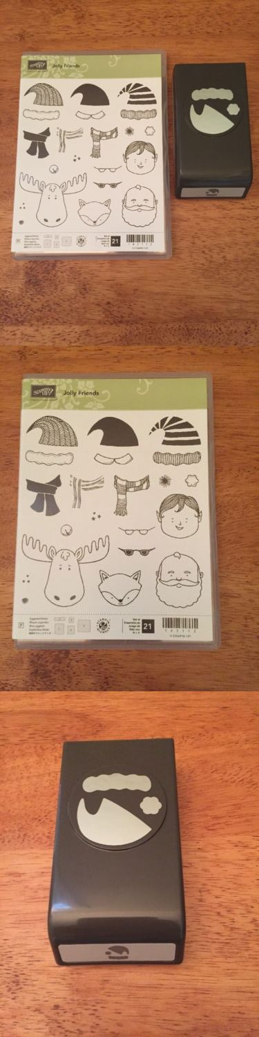 Stamps 31740: Stampin Up Christmas, Jolly Friends And Punch - New -> BUY IT NOW ONLY: $44.95 on eBay!