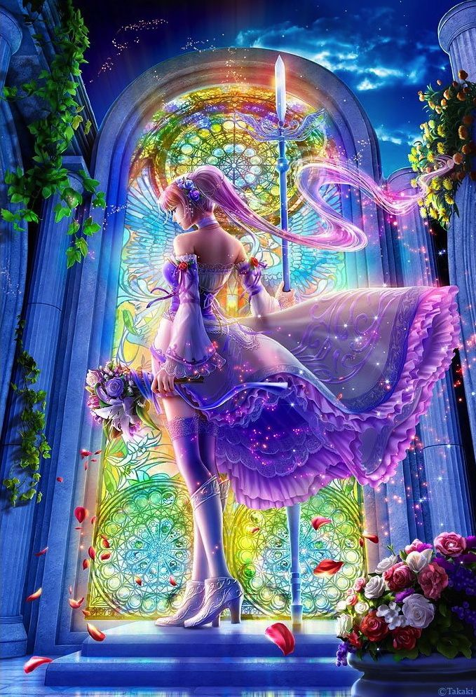 Beautiful Fantasy Art By Takaki Fantasy Art Beautiful