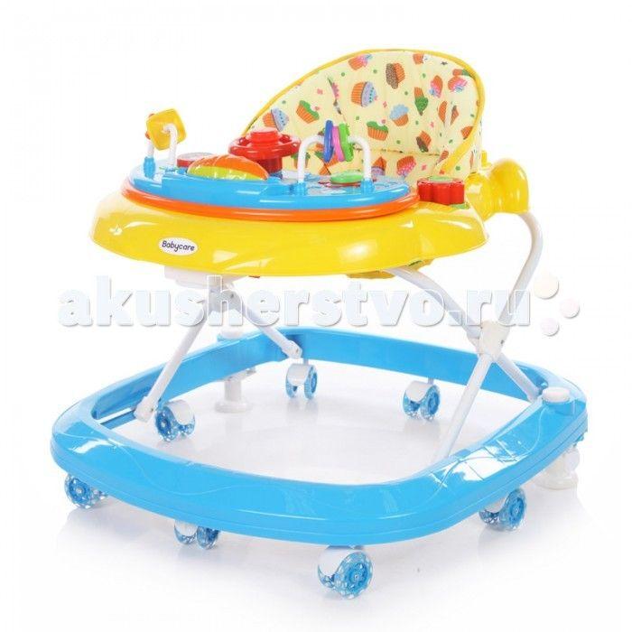 Ходунки Baby Care Sonic  Ходунки Baby Care Sonic  Ходунки имеют 8 силиконовых колес, 2 стоппера и мягкое сиденье  Обивка легко и полностью снимается, что очень упрощает стирку Ходунки имеют 3 положения по высоте Ходунки Baby Care Sonic имеют музыкально- игровую панель со световыми эффектами Рекомендовано для детей от 6 месяцев до 11.5 кг  Особенности: 8 силиконовых колёс 2 стоппера мягкое сиденье  музыкально-игровая панель со световыми эффектами 3 положения по высоте полностью съемная обивка…